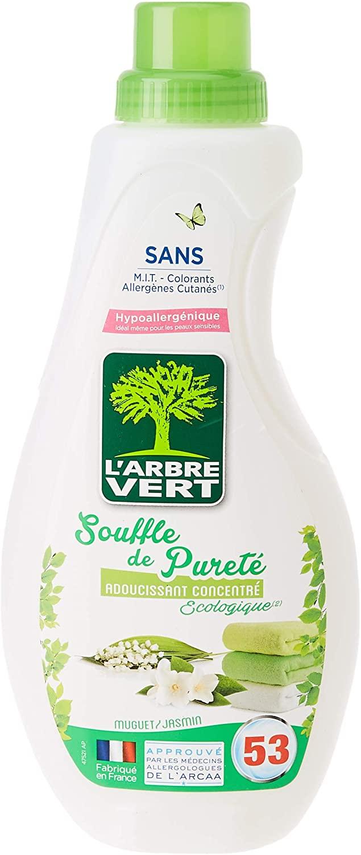 L'Arbre Vert Adoucissant concentré Souffle de pureté, muguet & jasmin